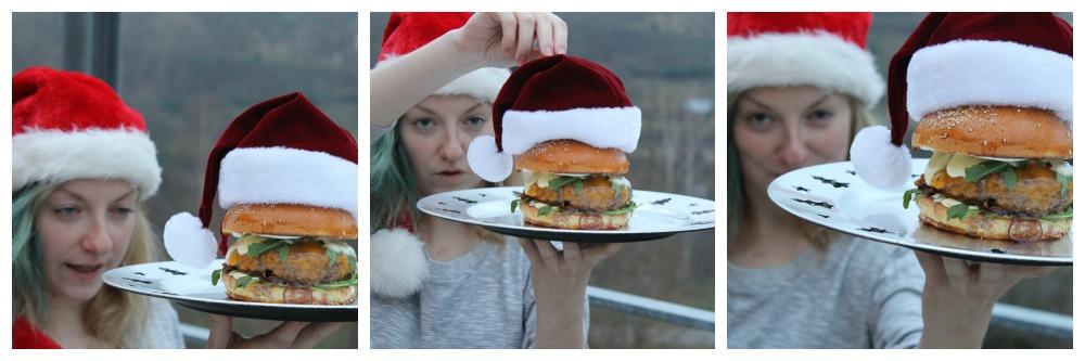 burger focení