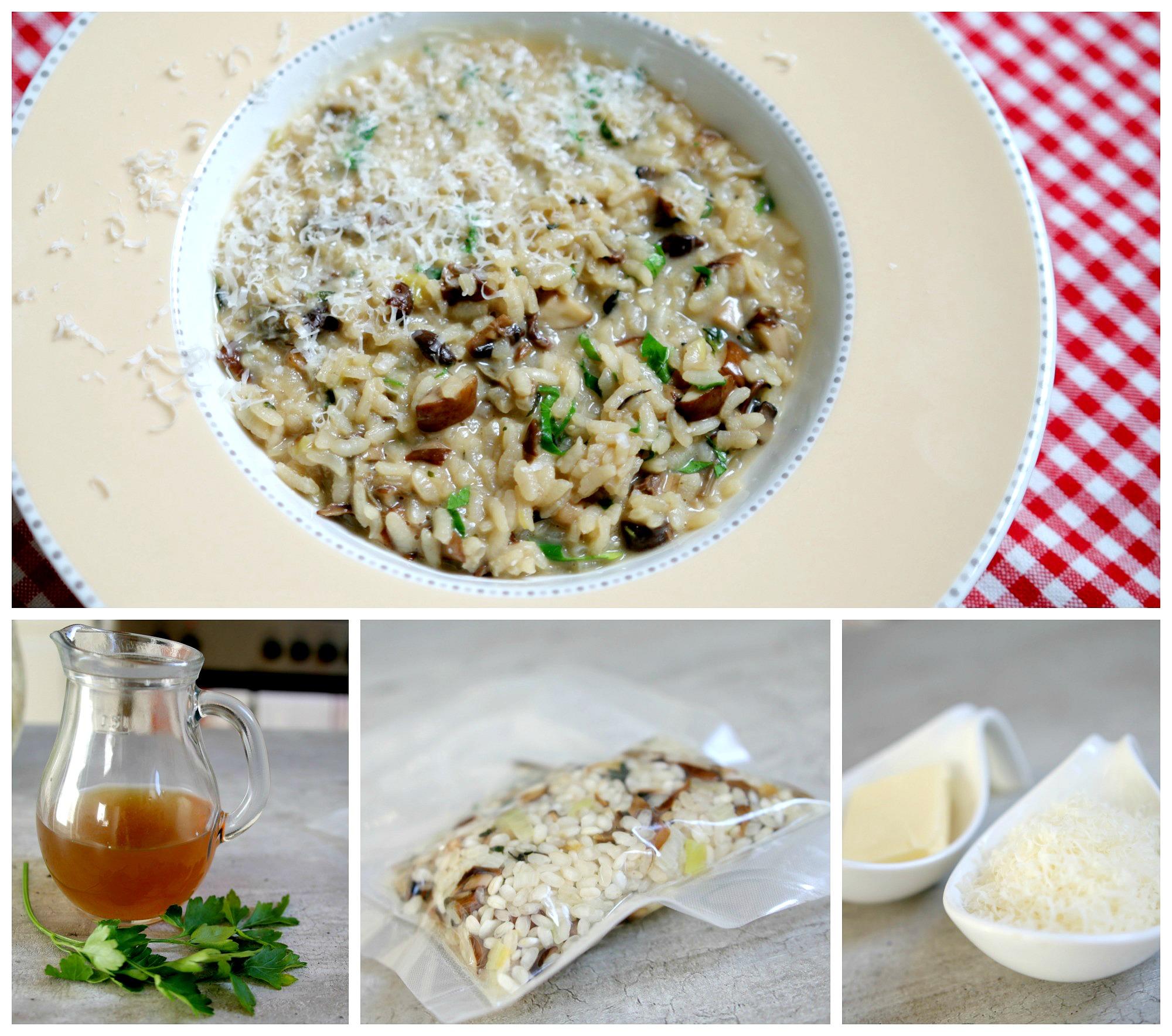 hříbkové risotto