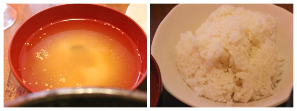 miso a rýže