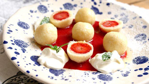 jahodové knedlíčky 4