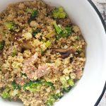Kuskus s jehněčím a brokolicí