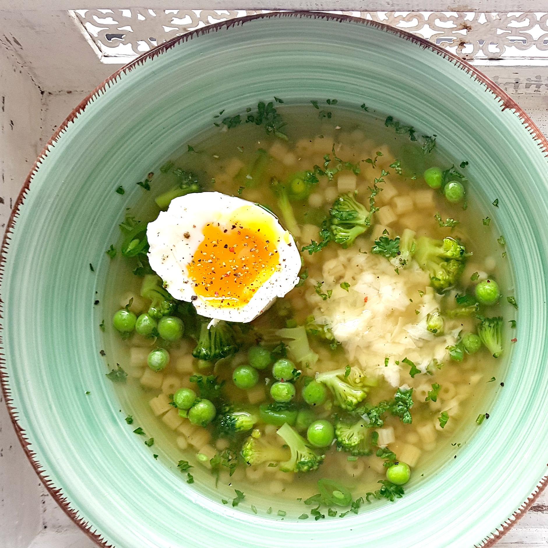vel zelená minestrone